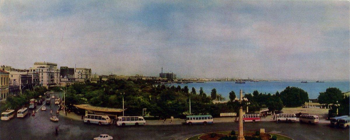Баку площадь Азнефть