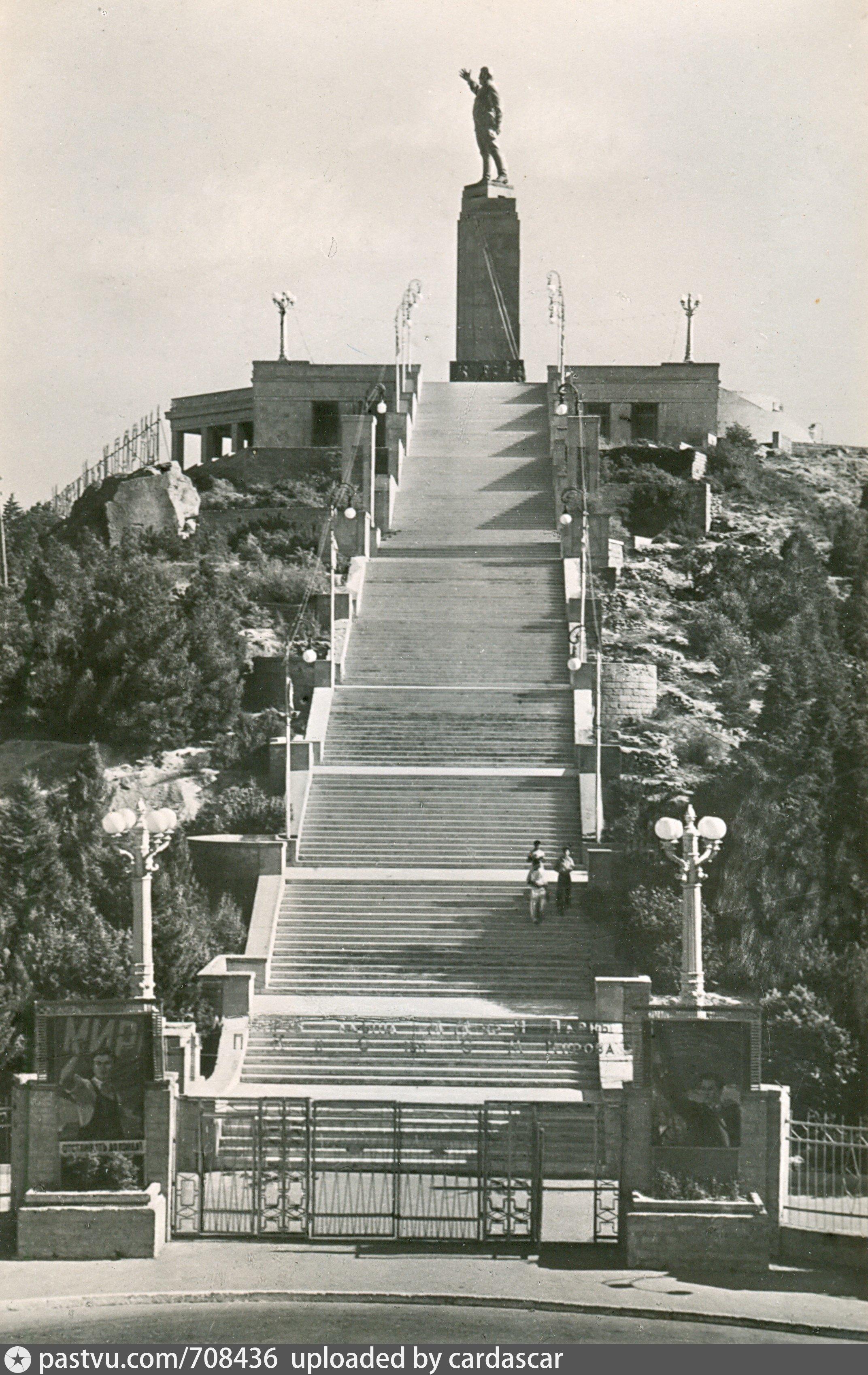 Баку Памятник Кирову