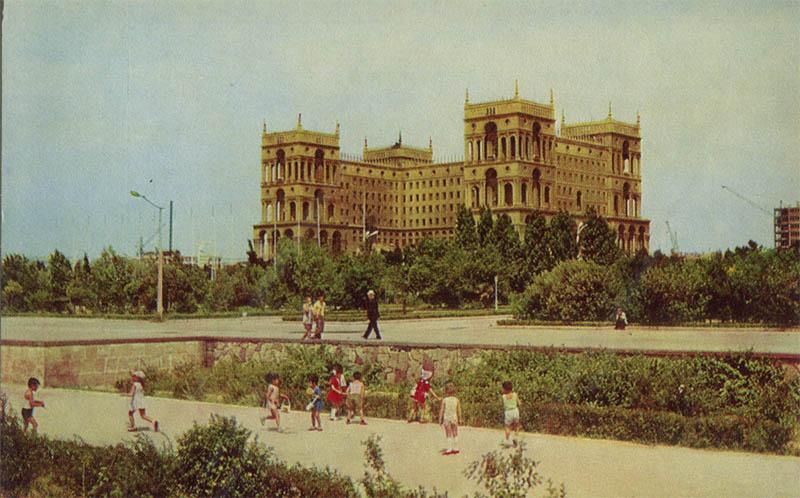 Баку Дом правительства
