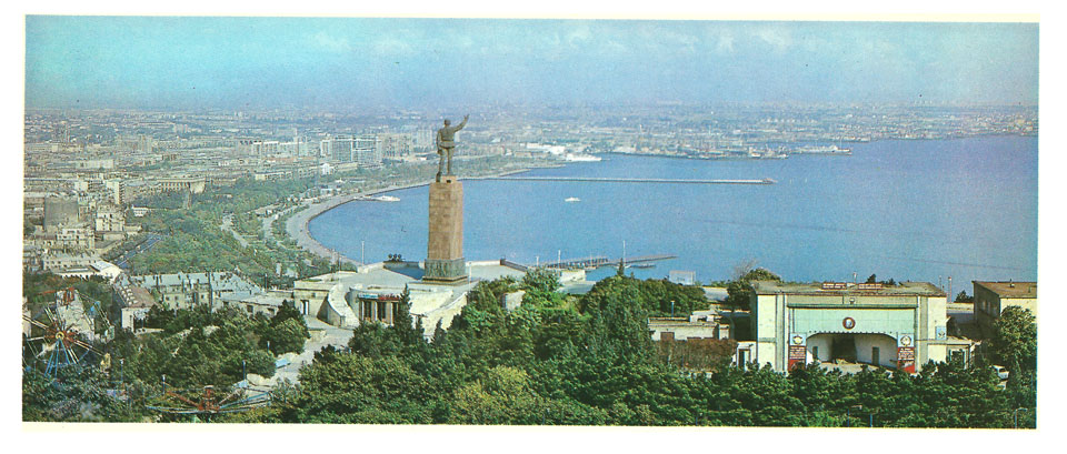 Баку панорама