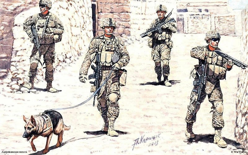 Wallpaper_2833_Master_Box_35154_US_Infantry