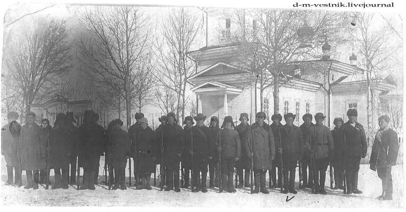 Церковь в с. Зеньковка. Фото 1920-х гг. Источник: d-m-vestnik.livejournal.com