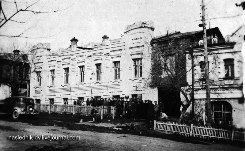 Быв. доходный дом Колышкина Н.А. Комсомольская, 72. Оригинал фото - в архиве автора