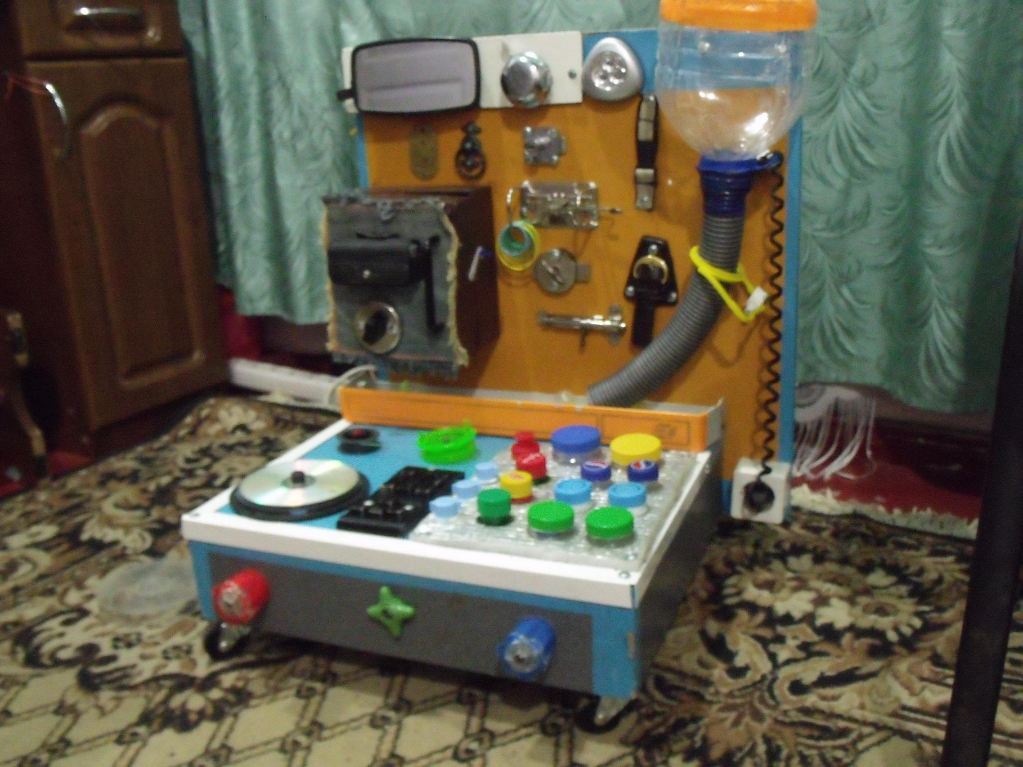 Интерактивный стол для детей своими руками