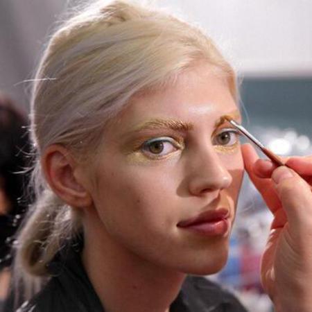 golden_eye_makeup_dior_pfw_ss14