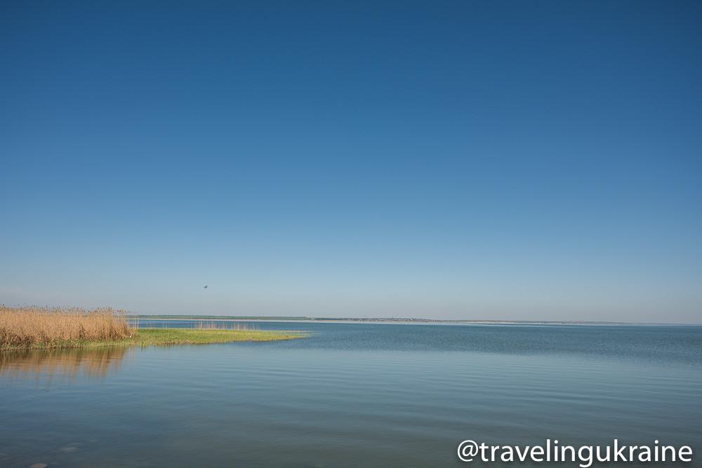 Фото озера ялпуг с самолета