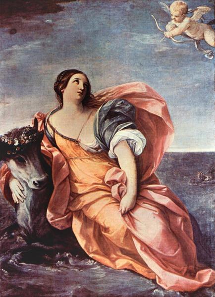 Рени Гвидо, Похищение Европы, 1630-40, Лондон, Собрание Магон