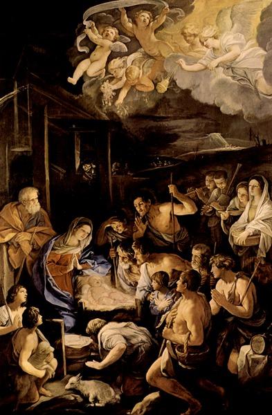 Рени Гвидо, Поклонение пастухов, 1630-42, Неаполь, Музей Сан Мартино