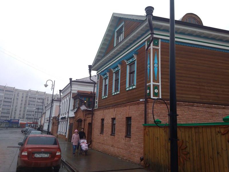 Старо-татарская слобода и первая каменная мечеть Казани