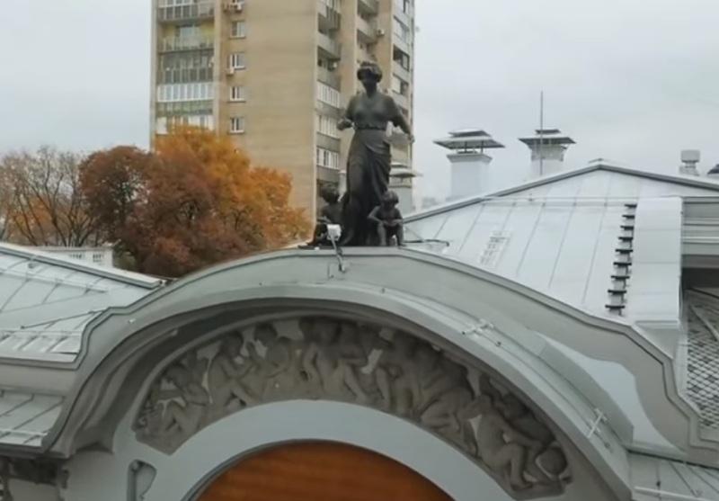 особняк Миндовского, скриншот с видео