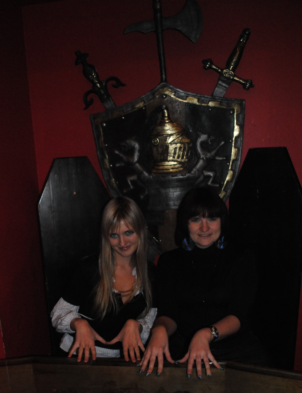 Рига, уже закрытый бар Трансильвания, 2011 год