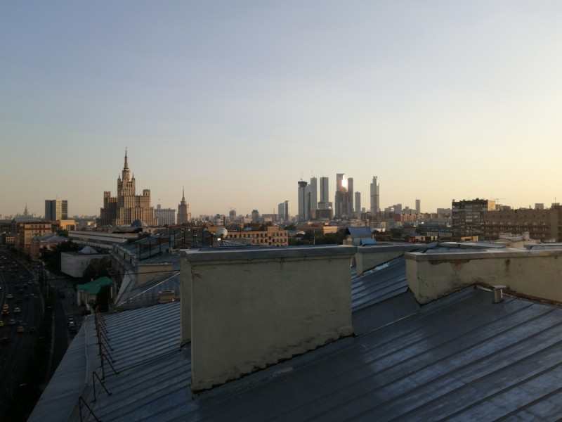 Иди и смотри необычную Москву: Московские небоскребы