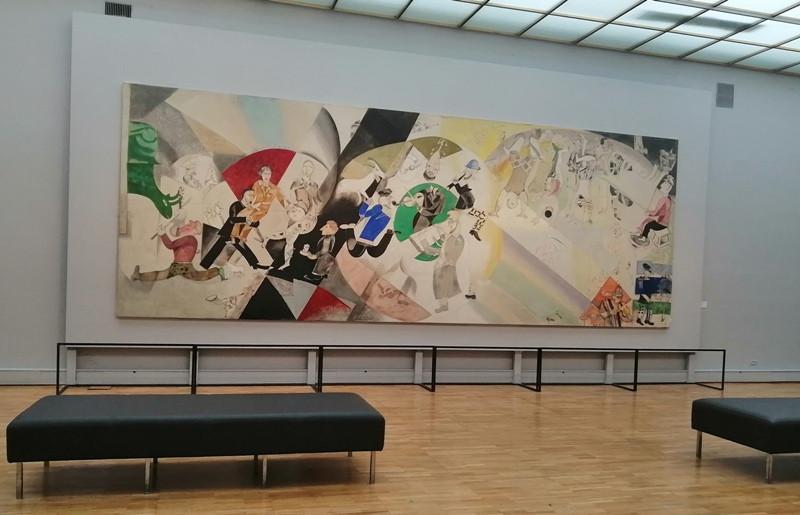 Марк Шагал «Введение в еврейский театр»
