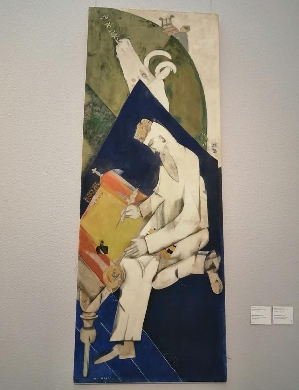 Марк Шагал «Еврейский театр»