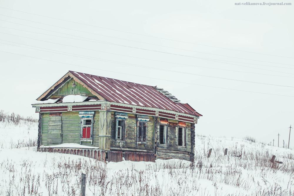 Домики в глубинке Ульяновской области (фото) - фото 19