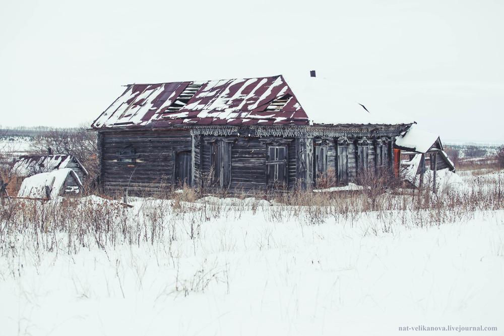 Домики в глубинке Ульяновской области (фото) - фото 20