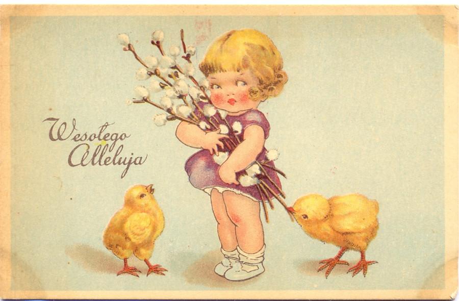 Открытки, открытки на польском с пасхой