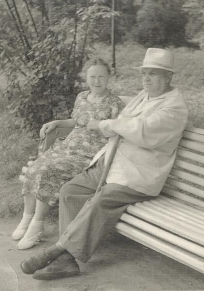 Бабушка Руня и дедушка Давид