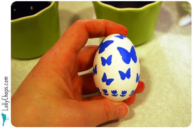 Как сделать яйца к пасхе
