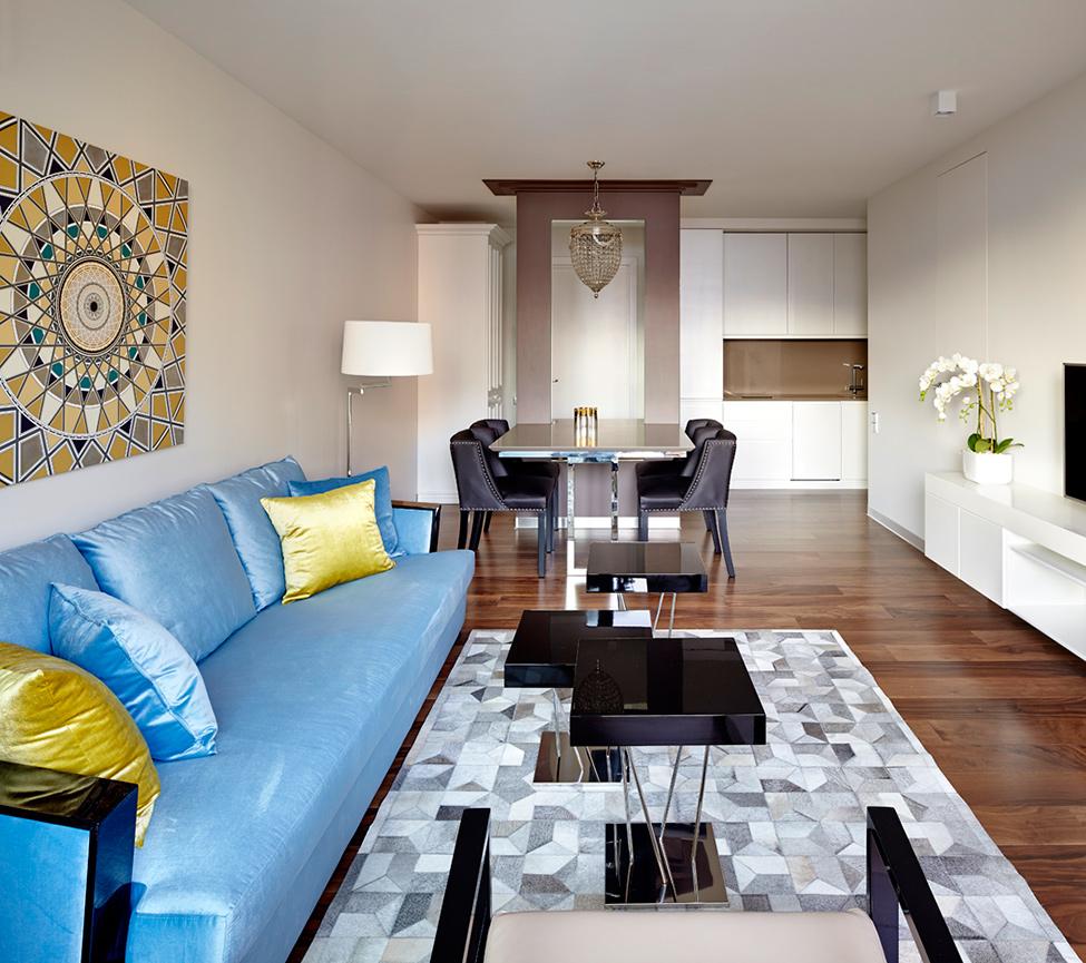 Фото дизайн стандартной однокомнатной квартиры