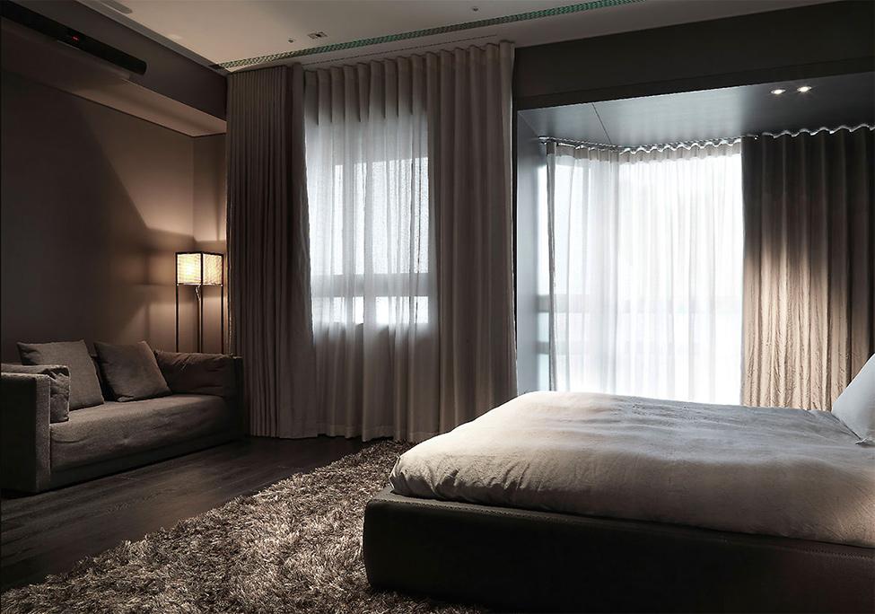 Шторы для мужской спальни фото