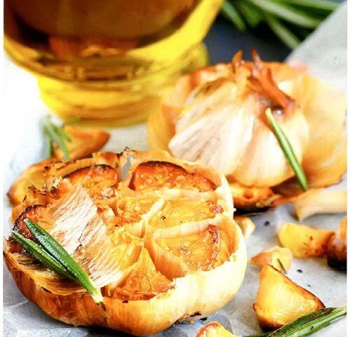 блюда из чеснока рецепты с фото