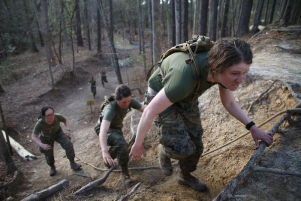 женская морская пехота