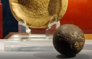первый каучуковый мяч