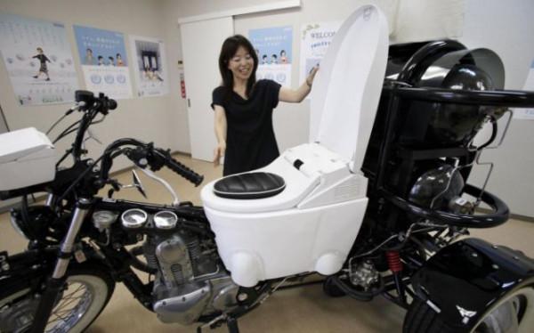 мотоцикл с навозом