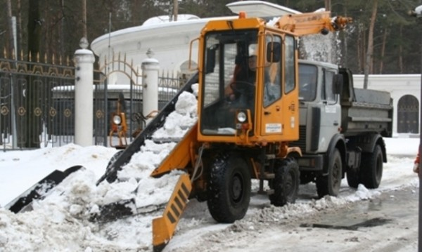 снегоуборочный комбайн