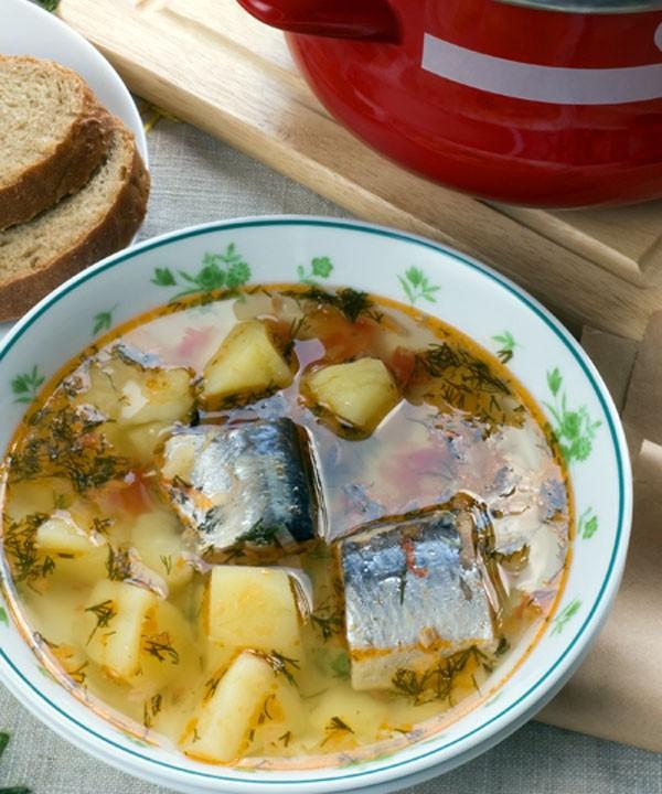 Рецепты супов с рыбными консервами с фото пошагово