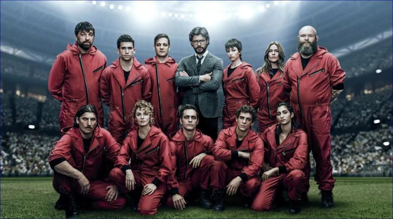Serial Bumazhnyj Dom La Casa De Papel 3 Sezon