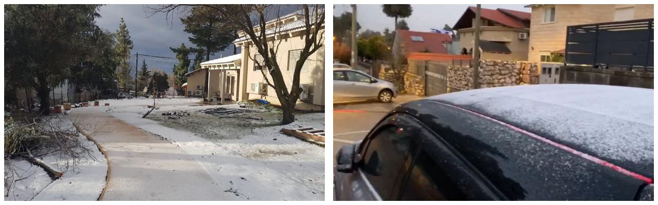 Израиль. 10 февраля – самый холодный день этого зимнего сезона.