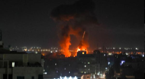 В ответ на зажигательные шары – ночная атака ВВС