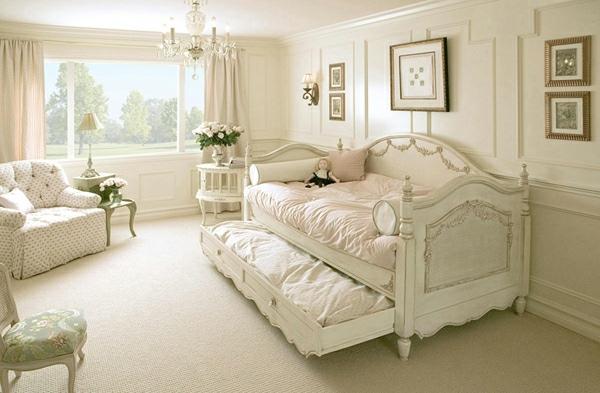 decoration chambre campagne - Chambre Vintage Romantique