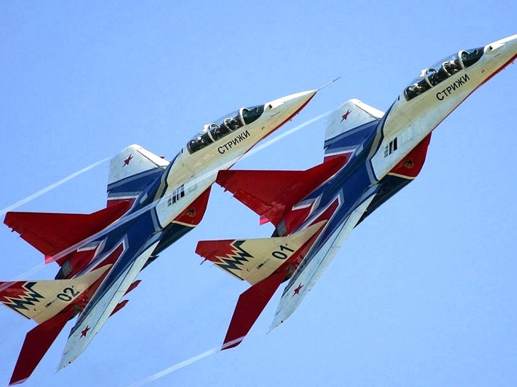 6 мая 1991 г. День рождения авиационной пилотажной группы СТРИЖИ