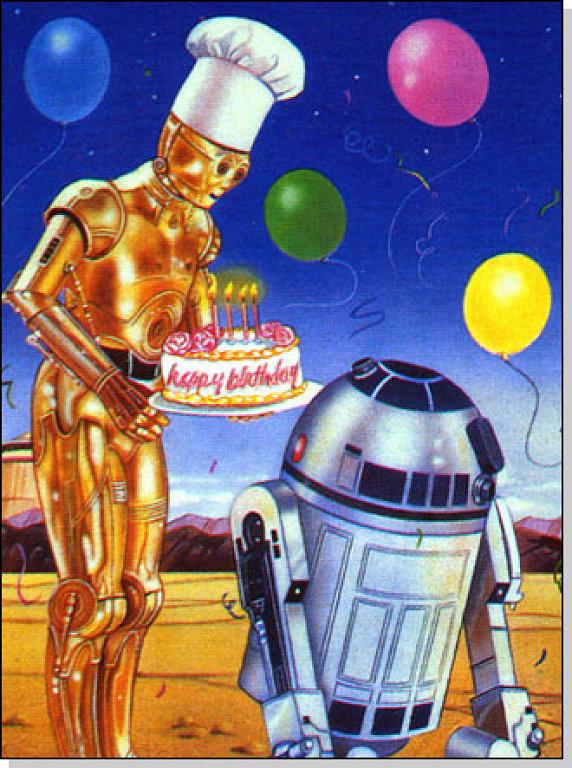 Звездные войны открытка