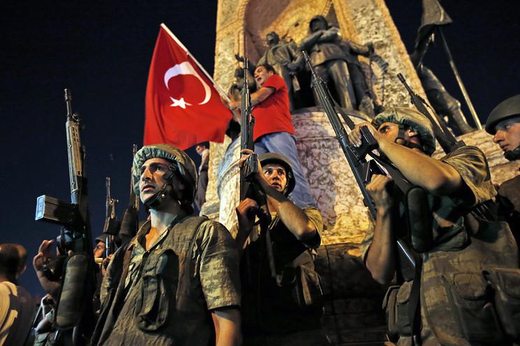 Попытка военного переворота в Турции. Хроника событий