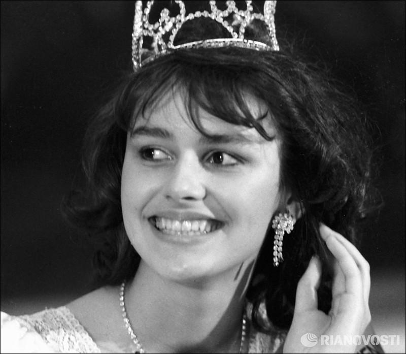 Маша Калинина.  Первая королева красоты в СССР.