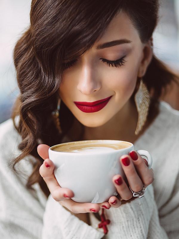 Картинки женщина и кофе, матами слез