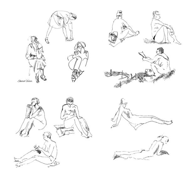 Natalia Piacheva sketch 4