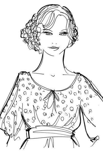 Подобрать прическу под вырез платья