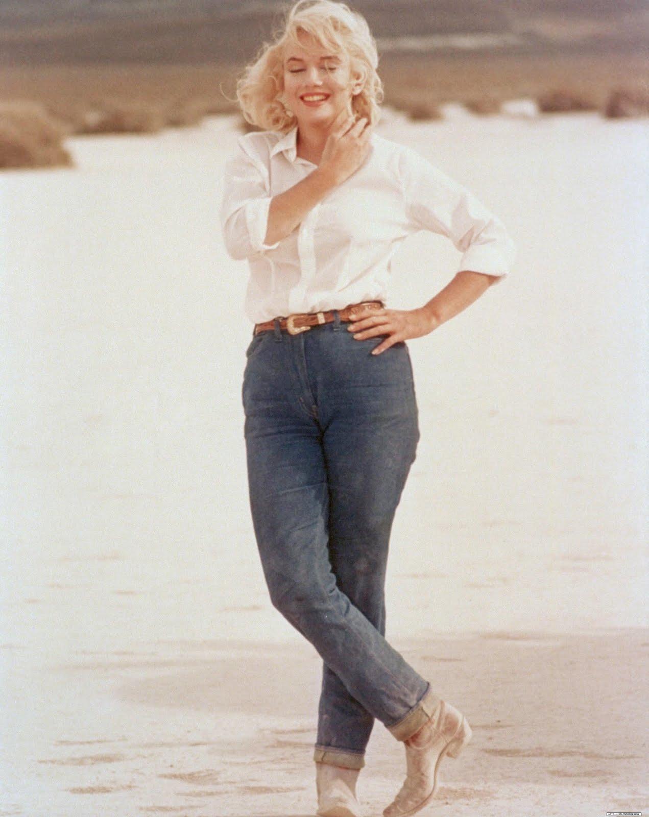 Marilyn-Monroe-in-jeans