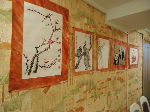 выставка учеников Натали Котовой