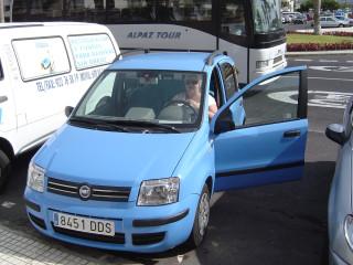 Fiat Panda 1,2 automatic
