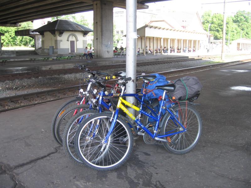Вело-путешествие Сигулда-Лигатне в 2005-ом году.