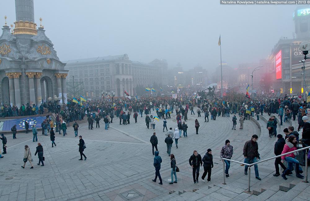 Митинг на Майдане 24 ноября 2013