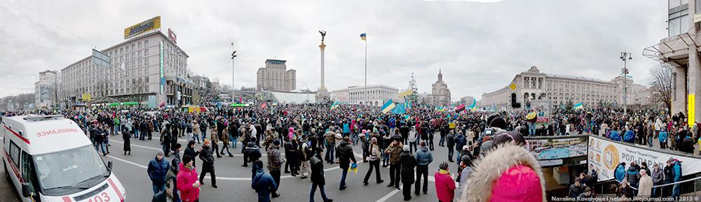 Митинг на Майдане Независимости - 1 декабря 2013