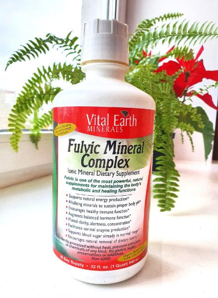 Vital Earth Minerals, Fulvic Minerals, 946 мл (32 жидк. унции)