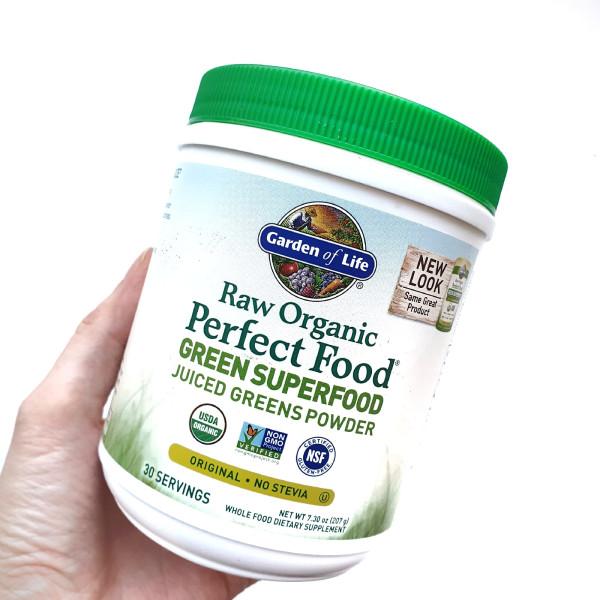 Garden of Life, Raw Organic Perfect Food, растительный суперпродукт, оригинальный вкус, 209 г (7,4 у